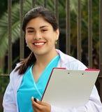 Enfermera de sexo femenino bastante adolescente Imagen de archivo