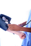 - Enfermera - doctor médico Imagen de archivo libre de regalías