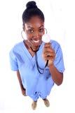 - Enfermera - doctor médico Foto de archivo