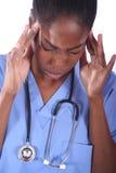 - Enfermera - doctor médico Fotos de archivo