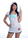 Enfermera en uniforme Imagen de archivo