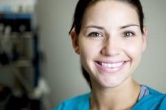 Enfermera hermosa Fotografía de archivo libre de regalías