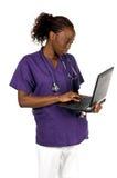 Enfermera médica Imágenes de archivo libres de regalías