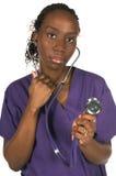 Enfermera médica fotos de archivo