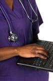 Enfermera médica Fotografía de archivo libre de regalías