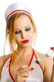 Enfermera sexual Fotos de archivo
