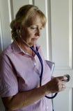 Enfermera At Work. Fotografía de archivo