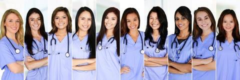 Enfermeras en hospital Fotografía de archivo