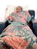Enfermo 2 del hombre Imagen de archivo libre de regalías