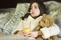 Enfermo casero Imagen de archivo
