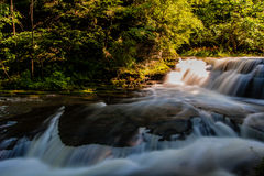 Enfield Creek, New York. A pretty stream in Treman State Park Stock Image