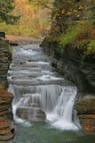 Enfield-Schlucht, Ithaca, NY Lizenzfreie Stockbilder
