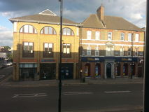 Enfield town. Summer evening e Royalty Free Stock Photography