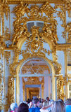 Enfilade of Catherine Palace Royalty Free Stock Photography