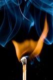 Enflammer d'allumette Images stock