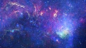 Enfoca adentro la galaxia Fotos de archivo