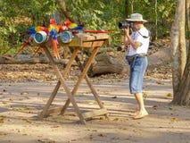 Enfoca el phot de Macaws fotos de archivo libres de regalías