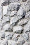 Enfocan las paredes de piedra muy fuertes. Imagen de archivo