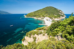 Enfola beach, Elba island. Royalty Free Stock Photography