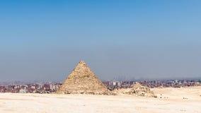 Enfoque adentro de la gran pirámide - Giza, El Cairo, Egipto metrajes
