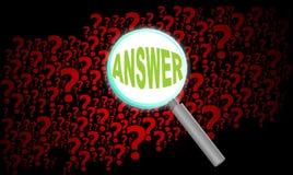 Enfoque del fondo de la pregunta Fotos de archivo