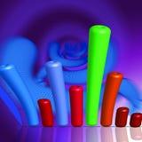 Enfoque del gráfico Imagen de archivo libre de regalías