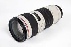 Enfoque 70-200m m de la lente Fotografía de archivo