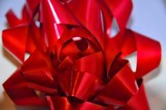 Enfoque rojo de la cinta Foto de archivo
