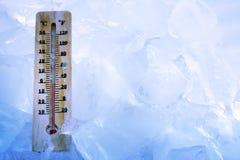 enfriamiento global Fotos de archivo
