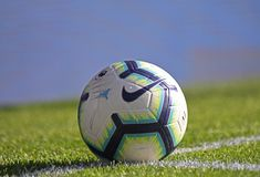 Official match ball stock image