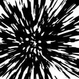 Eng demongezicht in nachtvenster Vector illustratie stock illustratie