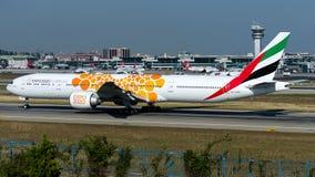 A6-ENG Emirates ,Boeing 777-300ER stock photos