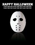 Eng het hockeymasker van Halloween Royalty-vrije Stock Foto's