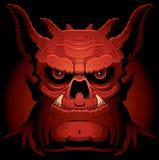 Eng Kwaad Demon vector illustratie