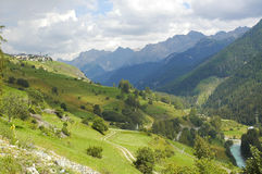 Engadine valley (Switzerland) Stock Images