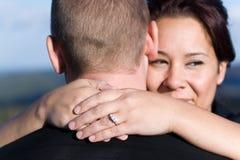 Engaged Couple Stock Image