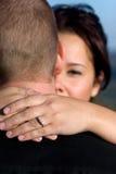 Engaged Couple royalty free stock photography