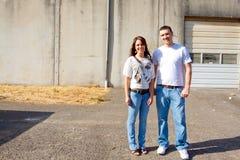 Engaged Couple Stock Photos