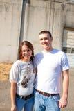 Engaged Couple Royalty Free Stock Photo
