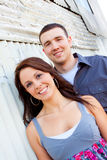 Engaged Couple Royalty Free Stock Photography