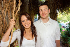 Engaged Couple Stock Images