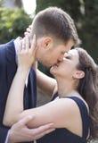 Engaged Couple Stock Photo