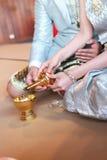 Engagement ceremony Stock Photo