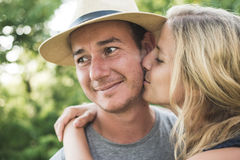 Engagement couple Royalty Free Stock Photography