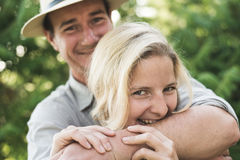 Engagement couple Royalty Free Stock Photos