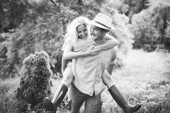Engagement couple Stock Photography