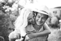 Engagement couple Royalty Free Stock Image