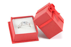 Engagement diamond Royalty Free Stock Photo