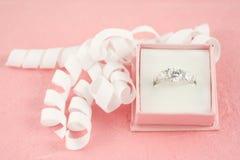 Engagement diamond Stock Images