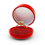 Engagement diamond ring concept Royalty Free Stock Images